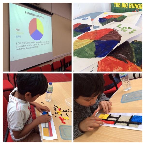 Art and Lego Workshop Half Term October
